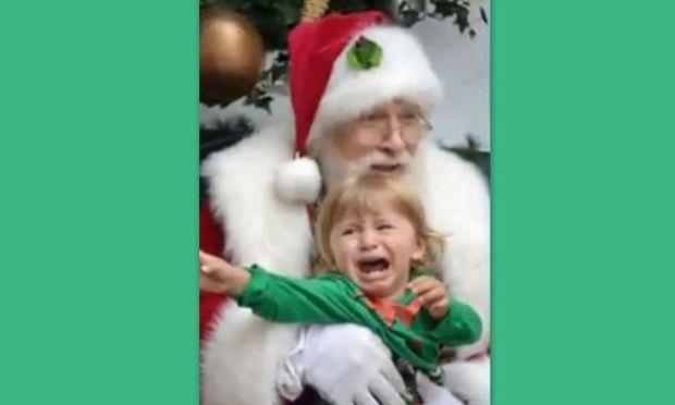 Γιατί μερικά παιδάκια φοβούνται τον Άγιο Βασίλη;