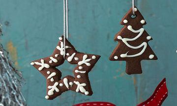 Χριστουγεννιάτικα μπισκότα σοκολάτας - Θα γλείφετε τα δάχτυλά σας