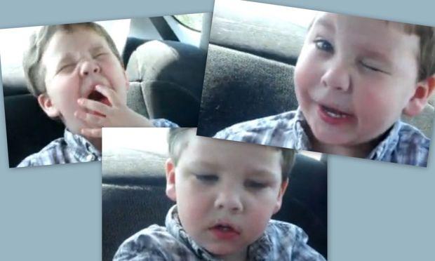Βίντεο: Δείτε πώς αντιδρά ένας πιτσιρικάς όταν τρώει μια «βρωμερή» καραμέλα!