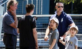 Ο Russell Crowe και πάλι κοντά στους γιους του