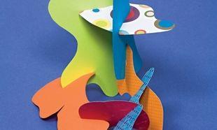 Φτιάξτε ένα γλυπτό από χαρτόνι