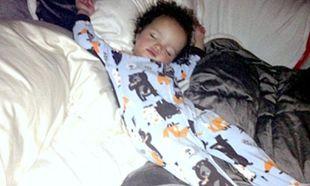 Ακόμα και στον ύπνο του έχει στυλ!