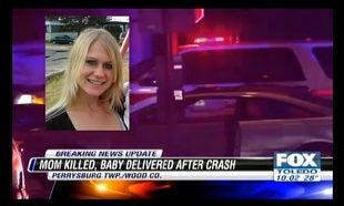 Μωρό γεννήθηκε την ώρα που η μητέρα του έχανε τη ζωή της σε τροχαίο