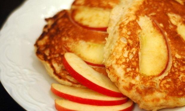 Τηγανίτες με μήλο!
