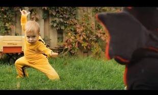 """Το μωρό που """"παλεύει"""" με τον δράκο!"""