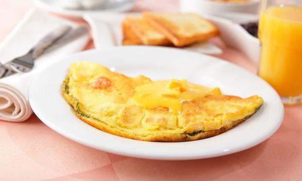 Η πιο γρήγορη ομελέτα για το πρωινό του παιδιού!
