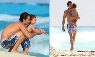 Orlando Bloom: Τρυφερές στιγμές με τον γιο του! (φωτό)
