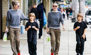Sharon Stone: Για παγωτό με τον υιοθετημένο της γιο