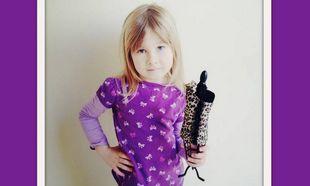 Η 4χρονη κόρη της Tori Spelling είναι σχεδιάστρια μόδας!