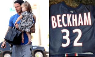 David Beckham: Η προσφορά προς τα παιδιά και η ποδοσφαιρική φανέλα για την κόρη του Harper