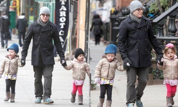 Ο Matthew Broderick και τα πανέμορφα κοριτσάκια του! (φωτό)