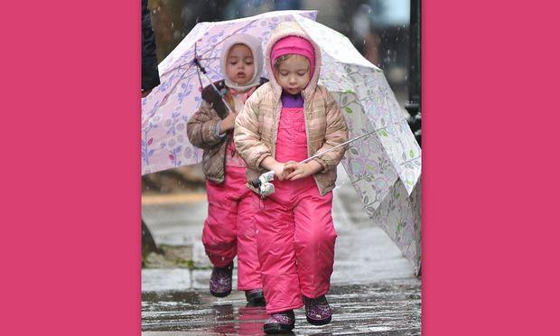 Μικρές κυρίες στο… χιόνι οι κόρες της Sarah Jessica Parker!