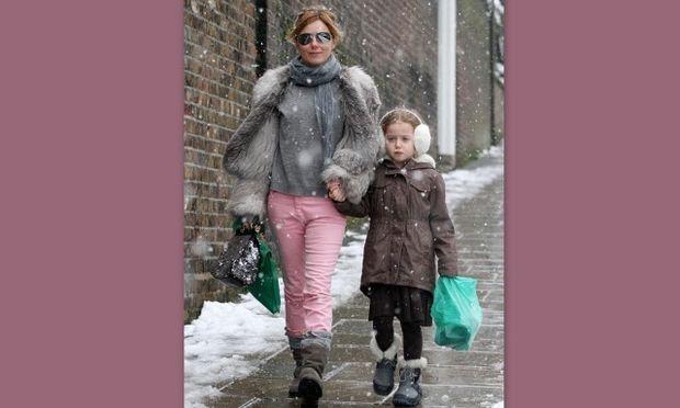 Geri Halliwell-Bluebell: Οι βασίλισσες του χιονιού