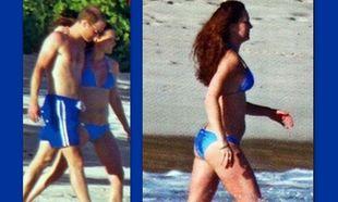 Ο φωτογραφικός φακός απαθανάτισε την Kate Middleton με μαγιό! Φουσκώνει η κοιλίτσα!