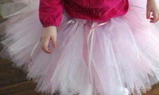 Φτιάξτε μόνες σας μια φούστα tutu για την μπαλαρίνα σας
