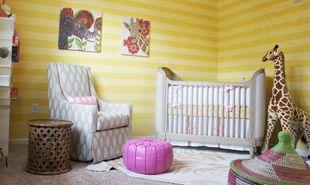 Παιδικά δωμάτια σε κίτρινο φόντο!