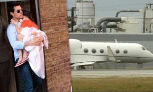Suri Cruise: Πήγε με ιδιωτικό αεροπλάνο στο Λονδίνο για να συναντήσει τον πατέρα της!