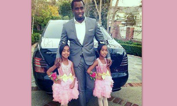 P Diddy: Σε βραδιά χορού με τις κόρες του!
