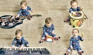 Δείτε το μωρό...ορχήστρα!