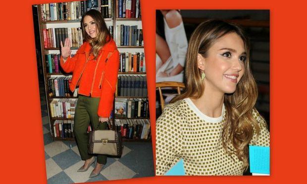 Jessica Alba: Παρουσίασε το βιβλίο της στη Νέα Υόρκη!