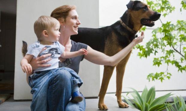 Με λιγότερες  ιώσεις όσα παιδιά συγκατοικούν με σκυλάκια!