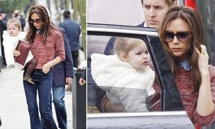 Victoria-Harper Beckham: Δύο κούκλες στο Λονδίνο (φωτό)