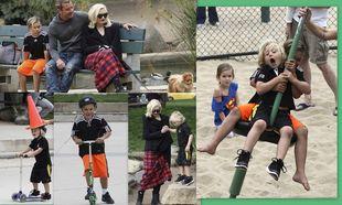 Gwen Stefani-Gavin Rossdale: Καμαρώνοντας τα αγόρια τους!
