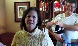 Βίντεο: Ο τρόμος ζωγραφισμένος στα μάτια της που θα γίνει ξανά γιαγιά!