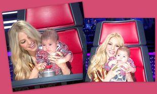 Shakira: Με τον κούκλο γιο της στο «The voice»!
