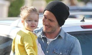 David Beckham: Η κόρη του τον κάνει συνέχεια να γελά! (φωτό)