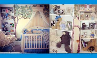 Έτοιμο το δωμάτιο του μικρού πρίγκηπα του Άλκη Δαυίδ