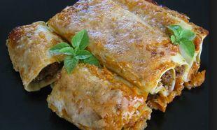Νόστιμα κανελόνια με κιμά, τυρί και κρέμα γάλακτος που θα λατρέψουν τα πιτσιρίκια σας!