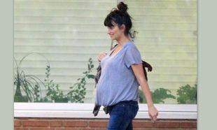 Η μεγάλη κοιλιά της Penelope Cruz!(φωτό)