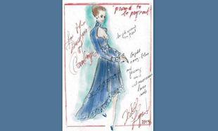 Καρλ Λάγκερφελντ: Αυτό είναι το φόρεμα εγκυμοσύνης που σχεδίασε για την Κέιτ Μίντλετον !