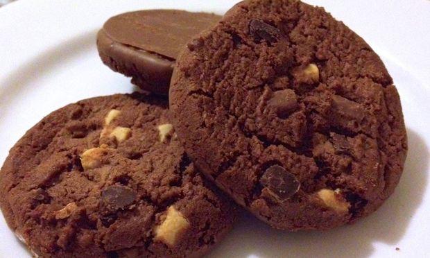 Λαχταριστά μπισκότα με σοκολάτα!