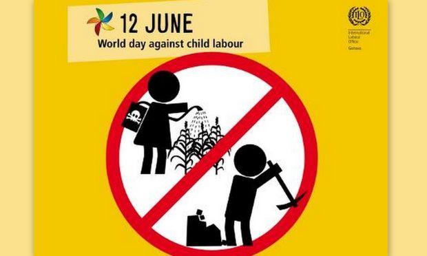 12 Ιουνίου: Παγκόσμια Ημέρα κατά της Παιδικής εργασίας