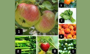 Αυτά είναι τα λαχανικά και τα φρούτα με τα περισσότερα χημικά και φυτοφάρμακα!
