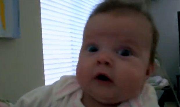 Τι τρομοκρατεί αυτό το μωράκι; (βίντεο)