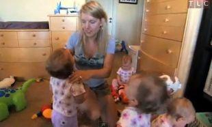 Κόλαση η ζωή μιας μαμάς που έχει άρρωστα και τα πέντε μωρά της (βίντεο)
