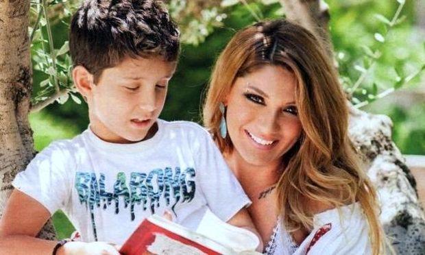 Αγγελική Ηλιάδη: «Ο γιος μου είναι το θαύμα της ζωής μου»
