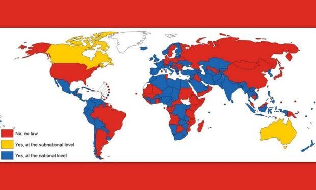 Παγκόσμιος χάρτης: Απαγορεύεται το κάπνισμα σε όλα τα σχολεία του κόσμου;
