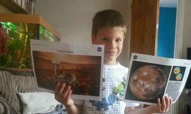 Το συγκινητικό γράμμα ενός 7χρόνου στη NASA!