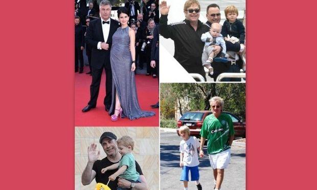 Διάσημοι που έγιναν μπαμπάδες μετά τα 50!