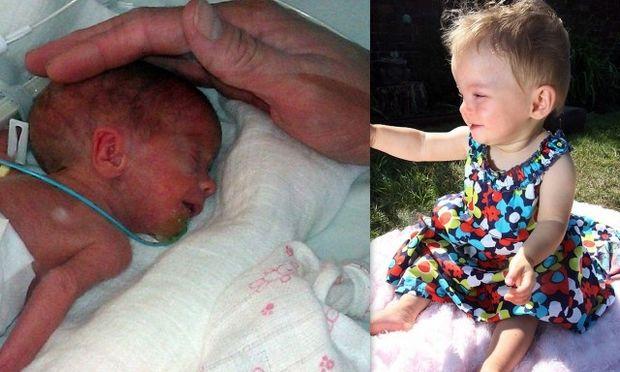 Οι γιατροί την είχαν ξεγραμμένη και εκείνη σήμερα γιορτάζει τα 1α της γενέθλια