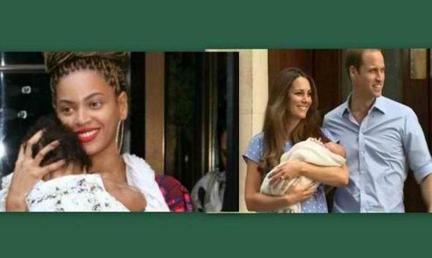 Τι συνδέει την κόρη της Beyonce με τον γιο της Middleton