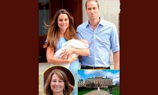 Η μητέρα της Κέιτ μετακομίζει στο παλάτι για να είναι κοντά στον εγγονό της, πρίγκιπα Τζορτζ!