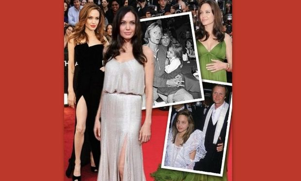 Angelina Jolie: Από μικρή στο κόκκινο χαλί