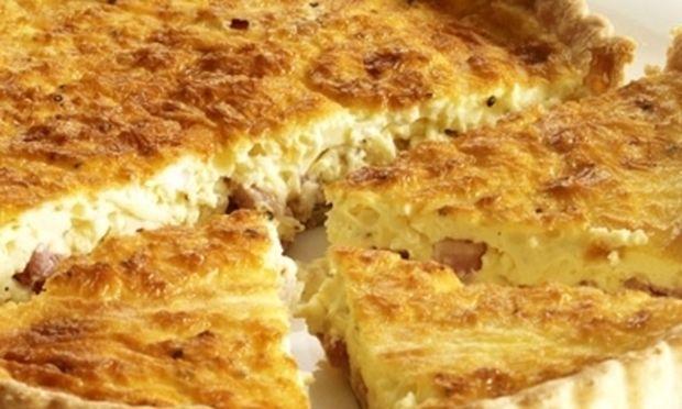 Συνταγή για απίθανη κις λορέν με αυγά και τυρί!