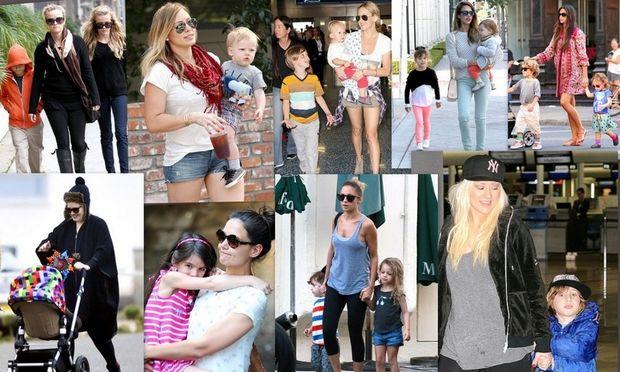 Οι πιο μικρές μαμάδες του Χόλιγουντ!