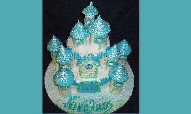 My cakes - My hobby! Ενα ζαχαρωτό κάστρο για τον γλυκό μας πρίγκιπα!